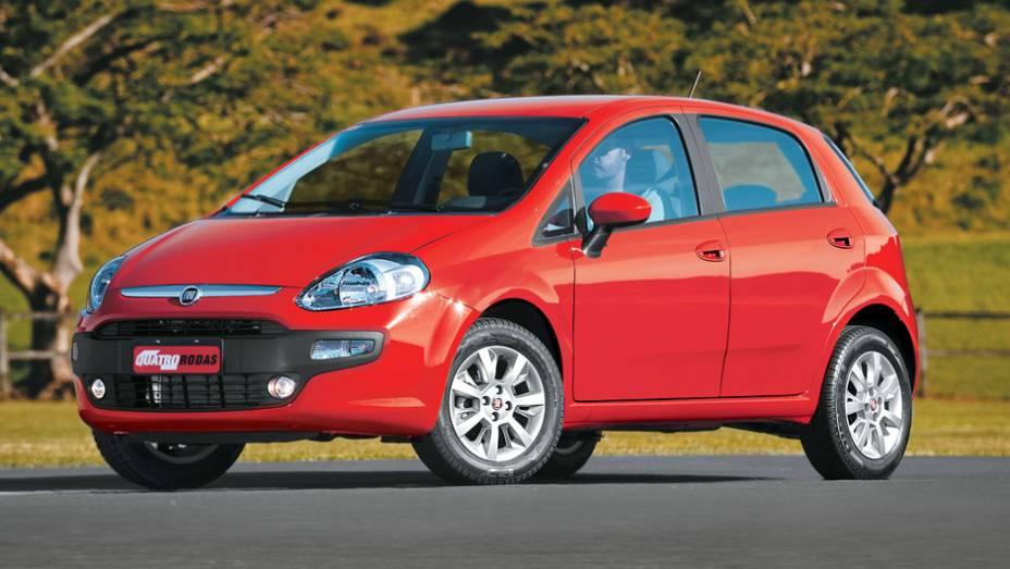 Fiat Punto: queda de 51,78% (vendas em janeiro de 2015: 1.747 x vendas em janeiro de 2014: 3.623)