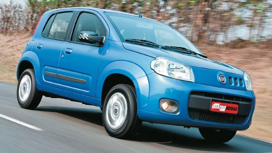 Fiat Uno: queda de 36,99% (vendas em janeiro de 2015: 8.588 x vendas em janeiro de 2014: 13.629)