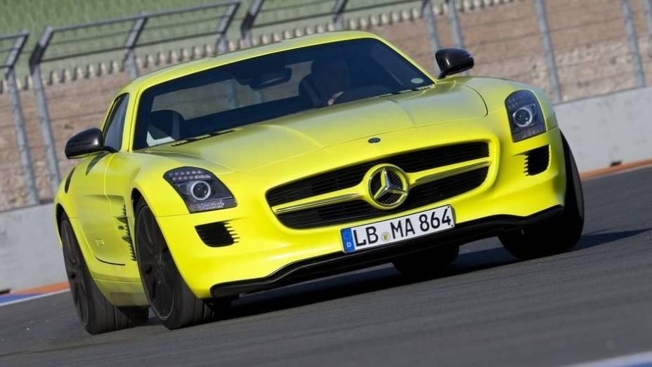 2014 - Mercedes-Benz SLS AMG E-Cell