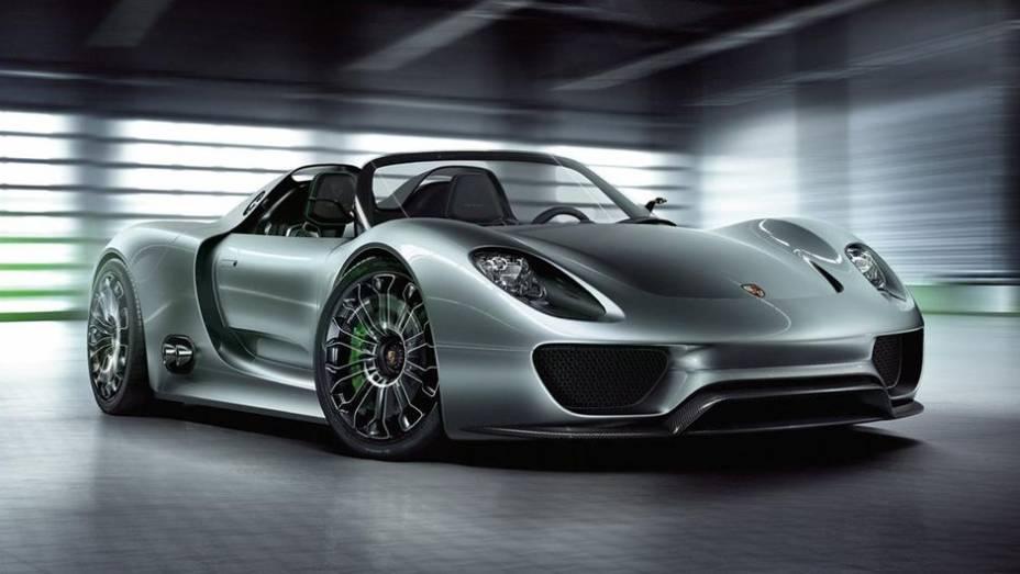 2014 - Porsche 918 Spyder Plug-in Hybrid