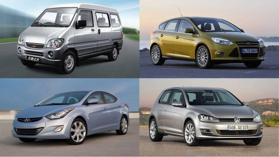 """A JATO Dynamics, consultoria especializada na indústria automotiva, divulgou uma lista com os dez carros mais vendidos no mundo em 2012. Confira!<a href=""""http://quatrorodas.abril.com.br/noticias/mercado/minivan-chinesa-modelo-mais-vendido-2012-734156.shtm"""" rel=""""migration""""></a>"""