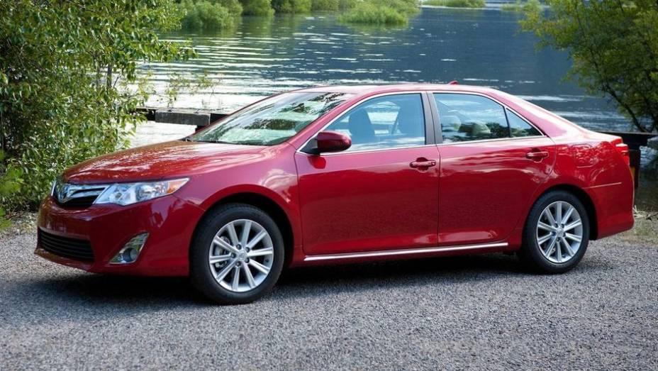 1ª - Toyota - Vendas em 2012: 6,30 milhões; Vendas em 2011: 5,08 milhões; Crescimento: 24,1%; Modelo mais vendido: Camry