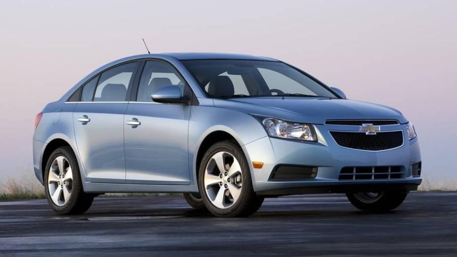 4ª - Chevrolet - Vendas em 2012: 4,29 milhões; Vendas em 2011: 4,07 milhões; Crescimento: 5,5%; Modelo mais vendido: Cruze
