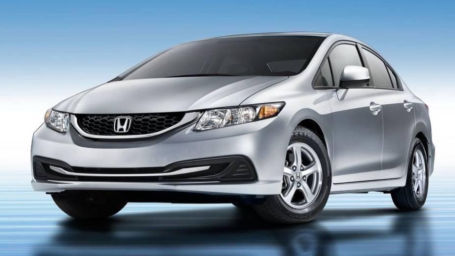 7ª - Honda - Vendas em 2012: 3,38 milhões; Vendas em 2011: 2,70 milhões; Crescimento: 25,2%; Modelo mais vendido: Civic