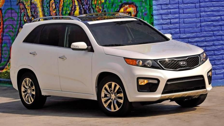 8ª - Kia - Vendas em 2012: 2,12 milhões; Vendas em 2011: 1,95 milhões; Crescimento: 8,8%; Modelo mais vendido: Não informado