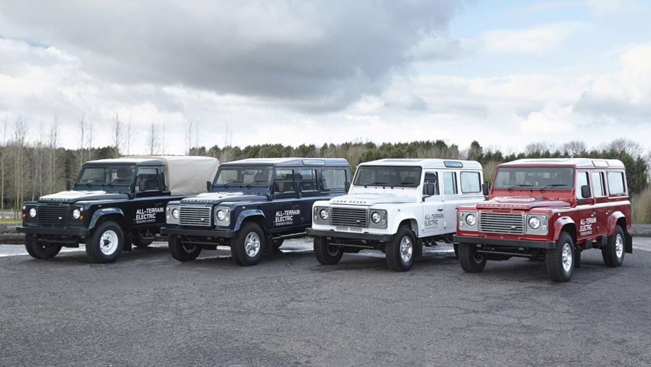 Land Rover Defender All-Terrain Electric