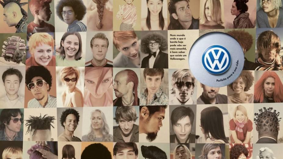 Em tempos de globalização, em que tudo muda rapidamente, a VW optou por destacar que, se você comprasse um carro dela, não teria problemas com isso.
