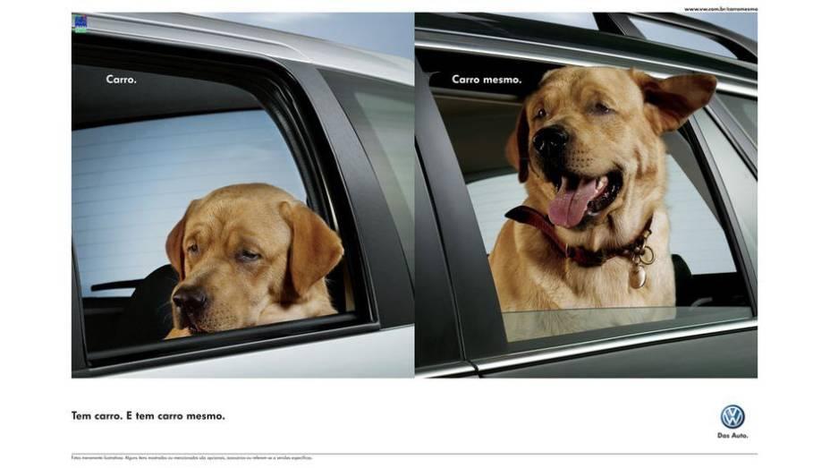 Enquanto os carros de outras marcas não empolgavam, os da Volkswagen...