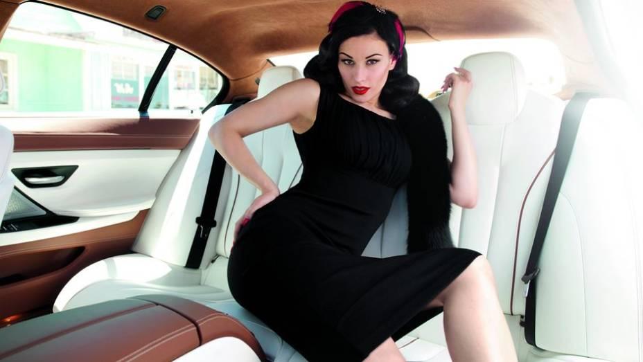 """Burlesque Style Photos / Série 6 Gran Coupé   <a href=""""http://quatrorodas.abril.com.br/blogs/planeta-carro/2013/04/22/isso-e-pura-arte/"""" rel=""""migration"""">Leia mais</a>"""