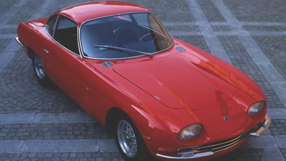Lamborghini 350 GT - Não, o lendário Miura não foi o primeiro Lamborghini. No olimpo dos supercarros, o 350 GT, de 1963, parece um vistoso aquecimento.