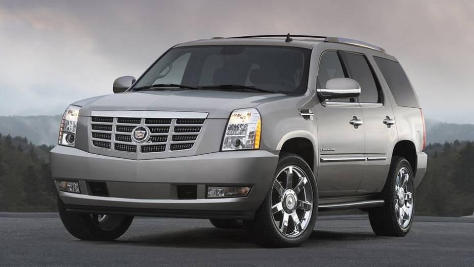 6º - Cadillac Escalade - 5,5 furtos/roubos por 1.000 unidades