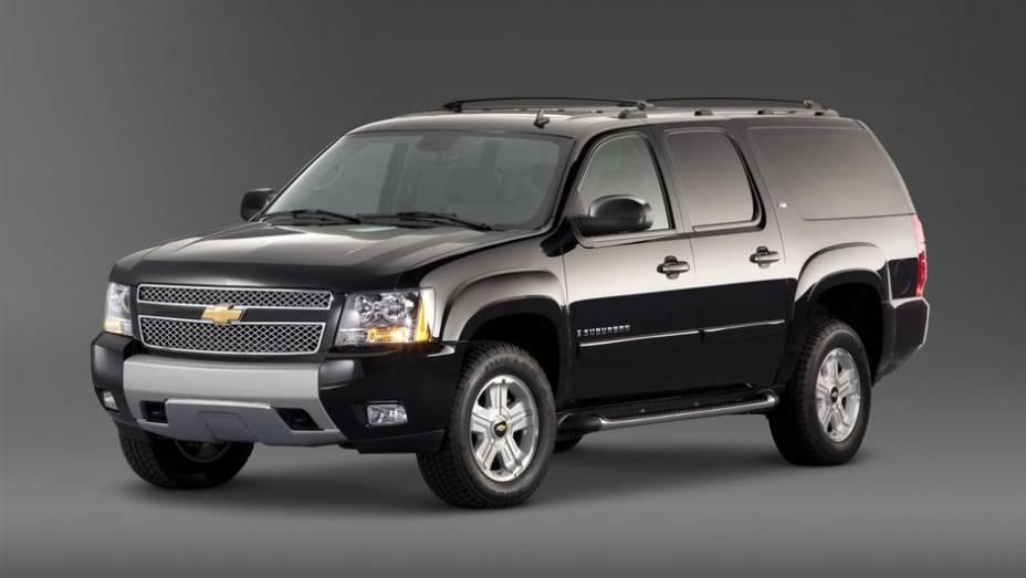 7º - Chevrolet Suburban 1500 - 5,4 furtos/roubos por 1.000 unidades