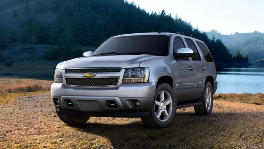10º - Chevrolet Tahoe - 4,4 furtos/roubos por 1.000 unidades