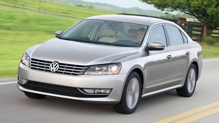 VW Passat - Vendas no 1º semestre de 2013: 348.545 unidades - Vendas no 1º semestre de 2012: 328.674 unidades - Crescimento: 6%