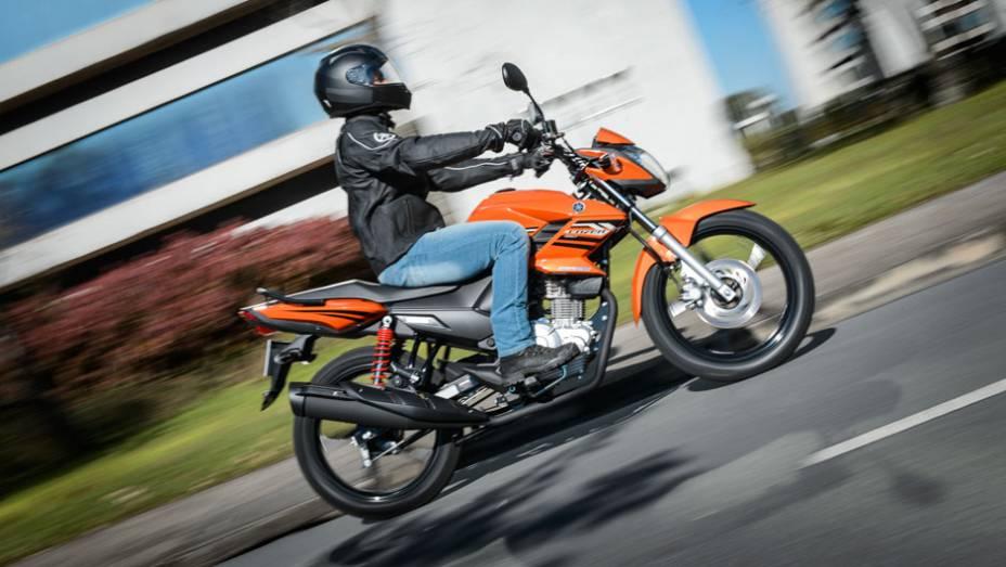 """Yamaha lança YS150 Fazer, disponível a partir de outubro   <a href=""""http://quatrorodas.abril.com.br/moto/noticias/yamaha-lanca-ys150-fazer-r-7-390-00-752066.shtml"""" rel=""""migration"""">Leia mais</a>"""
