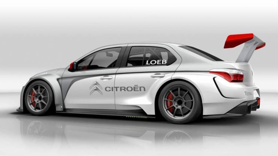 """Como o nome sugere, este é o carro que será utilizado no tradicional World Touring Car Championship   <a href=""""http://quatrorodas.abril.com.br/saloes/frankfurt/2013/citroen-c-elysee-wtcc-753524.shtml"""" rel=""""migration"""">Leia mais</a>"""