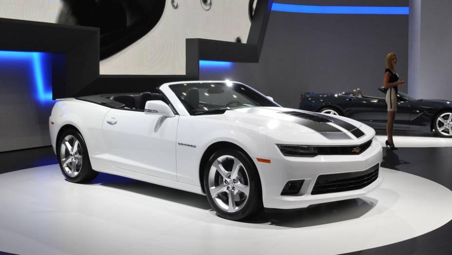 """Chevrolet Camaro Convertible   <a href=""""http://quatrorodas.abril.com.br/saloes/frankfurt/2013/chevrolet-camaro-convertible-753470.shtml"""" rel=""""migration"""">Leia mais</a>"""