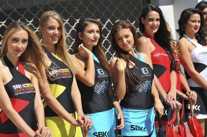Garotas da Superbike 2013