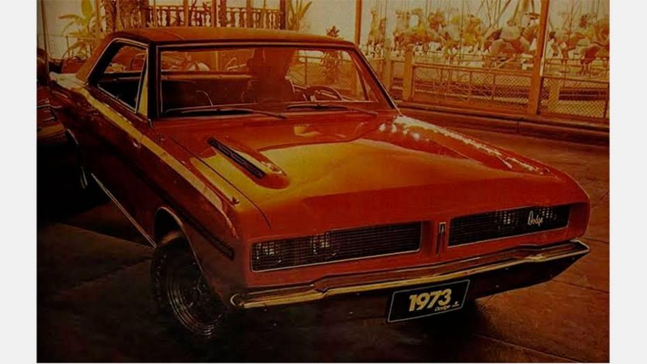 Charger R/T (1970) - Muitos não sabem, mas o Charger brasileiro era menor, derivado do Dart, compacto nos Estados Unidos. Não importa, também virou um ícone V8, ainda que local