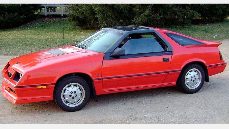 Daytona (1984) - Provavelmente o mais atraente carro K, conseguia tirar de seu motor de quatro cilindros 142 cv na versão turbo. Esportividade de Detroit pós-crise do petróleo...