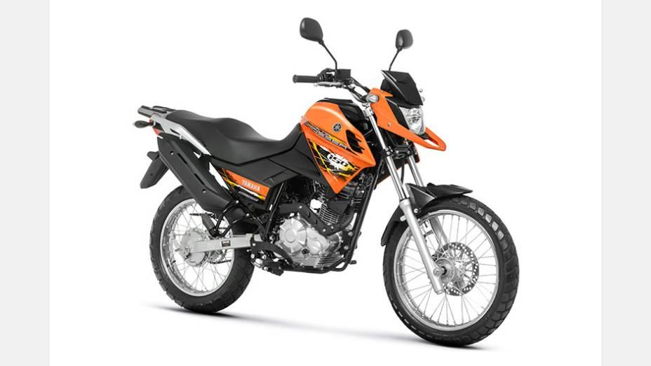 """Yamaha lança Crosser 150 por R$ 9.050,00   <a href=""""http://quatrorodas.abril.com.br/moto/noticias/yamaha-lanca-crosser-150-r-9-050-00-773044.shtml"""" rel=""""migration"""">Leia mais</a>"""