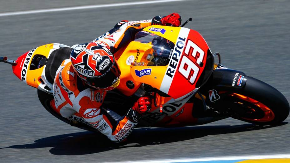 "Marc Márquez é pole em Le Mans | <a href=""http://quatrorodas.abril.com.br/moto/noticias/motogp-marquez-pole-le-mans-783126.shtml"" rel=""migration"">Leia mais</a>"