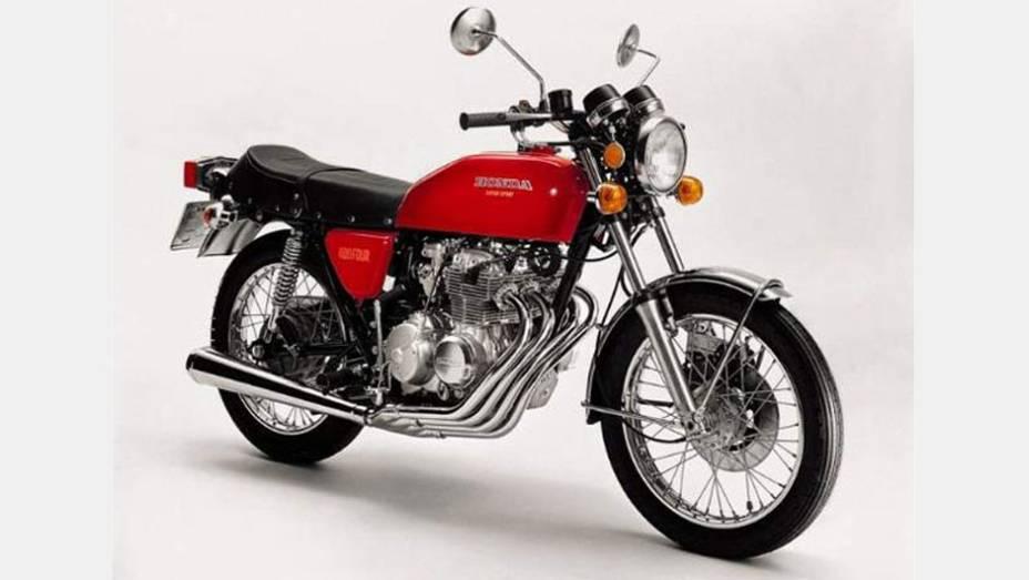 A Honda CB 400 Four foi importada no Brasil entre 1975 e 1977 e conquistou os fãs com seu ronco característico