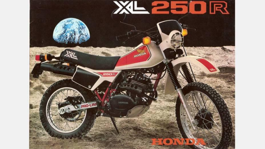 Honda XL 250R era conhecida pela sua resistência