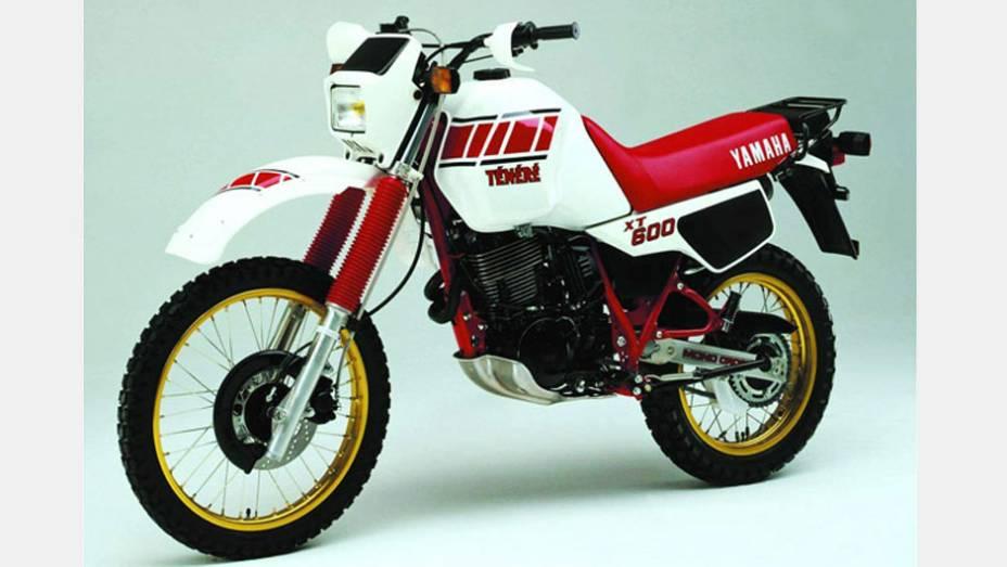 Yamaha Ténéré XT600: Lançado lá fora em 1983 devido ao sucesso no rali, o modelo chegou ao Brasil em 1993, importado