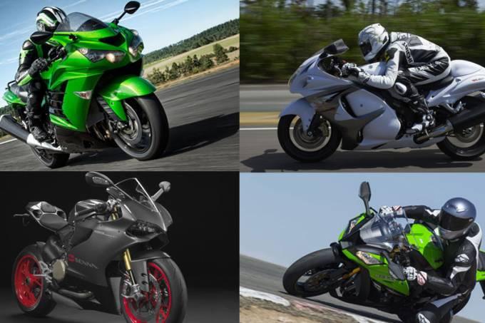 Motos mais potentes do Brasil