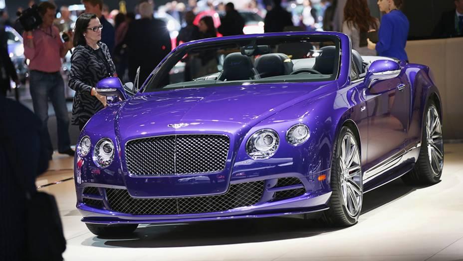 """Bentley GTS Speed   <a href=""""http://quatrorodas.abril.com.br/galerias/saloes/detroit-2015/1o-dia-salao-detroit-824981.shtml"""" rel=""""migration"""">Veja a primeira parte</a>"""
