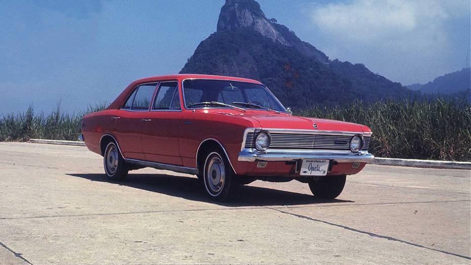 Falando sobre os produtos, um dos mais conhecidos carros da companhia no Brasil é o Chevrolet Opala, lançado em 1968.