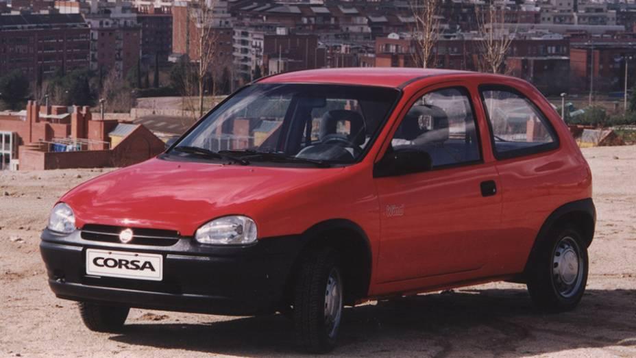 Nos anos 1990, a Chevrolet deu início a uma modernização de seu portfólio. Um dos lançamentos foi o Corsa.