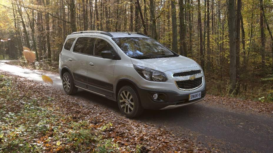 A mais nova adição ao catálogo da Chevrolet no Brasil foi o Spin Activ.