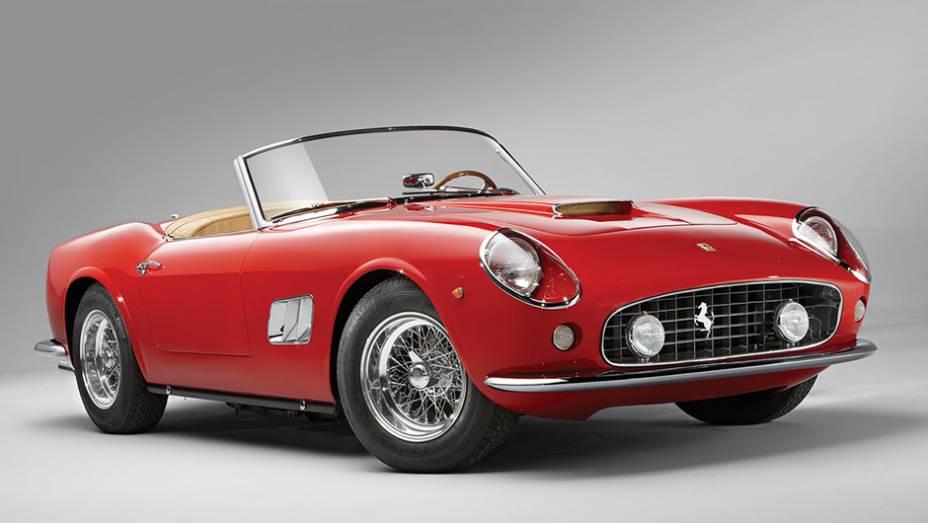 8º - Ferrari 250 GT SWB California Spider (1961); arrematada por 15.180.000 em agosto de 2014