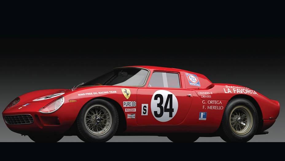 9º - Ferrari 250 LM (1964); arrematada por US$ 14.300.000 em novembro de 2013