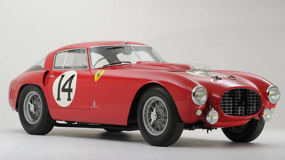 10º - Ferrari 340/375 MM Berlinetta Competizione (1953); arrematada por US$ 12.812.800 em maio de 2013