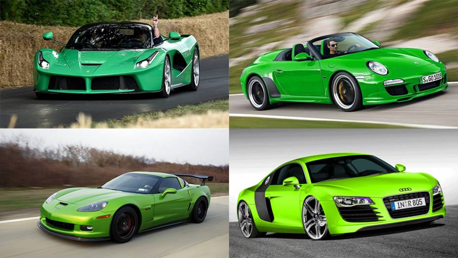 Em todo 17 de março é comemorado o St. Patricks Day, ou Dia de São Patrício, padroeiro da Irlanda. A tradição manda esbanjar a cor verde nesta data, então vamos contribuir com grandes carros nesse tom!