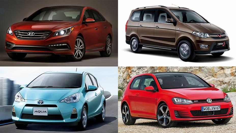 Já falamos muito sobre o reinado do Fiat Palio no mercado brasileiro em 2014. Mas e nos outros países? Saiba quais foram os modelos mais vendidos nos principais mercados durante o ano passado!