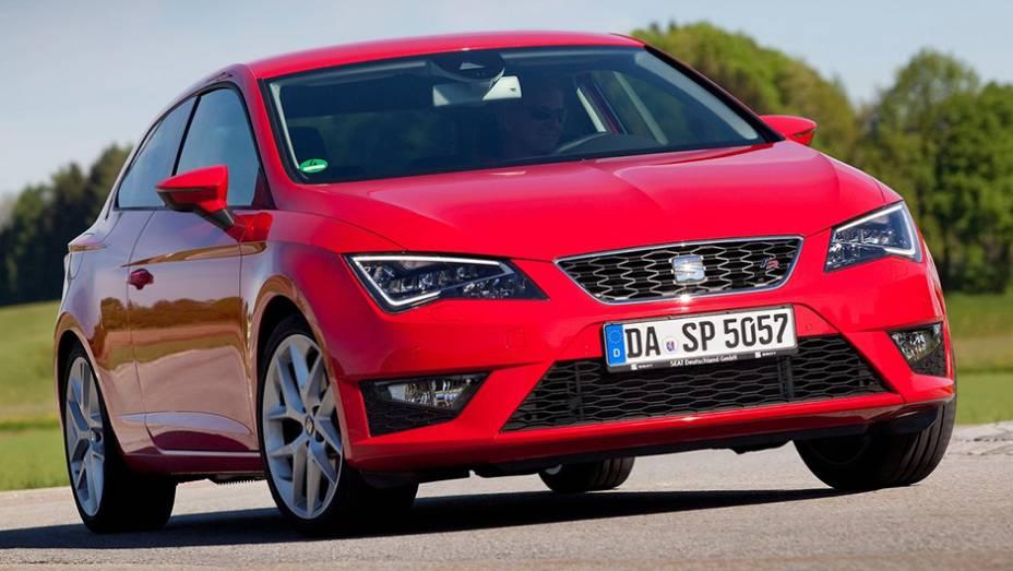 A marca é espanhola, apesar de pertencer a uma companhia alemã. Pois bem, o Seat Leon dominou as vendas no país ibérico em 2014, com 27.714 unidades.