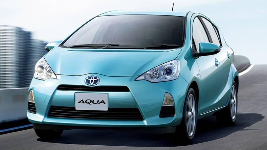 Se você nunca ouviu falar em Toyota Aqua, o mais vendido no Japão durante o último ano (233.209 unidades), não se preocupe: é apenas o nome do Prius c no mercado doméstico.