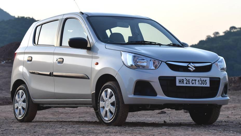 Quem achou o caminho das índias foi o Maruti-Suzuki Alto, com 264.544 unidades vendidas em 2014 no emergente mercado indiano.