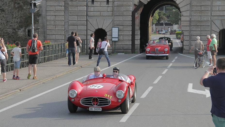 Quanto ao trajeto, diversas cidades belíssimas da Itália são visitadas ao longo de quatro dias.