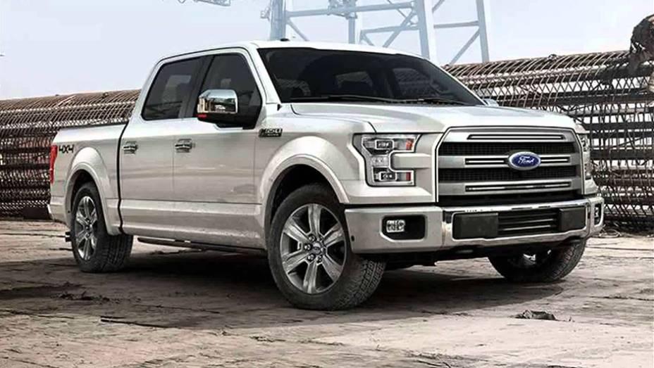 Indiscutivelmente, esta foi a solução mais comentada dos últimos tempos: painéis externos em alumínio para a Ford F-150. Com isso, a picape mais vendida dos EUA emagreceu incríveis 300 kg.