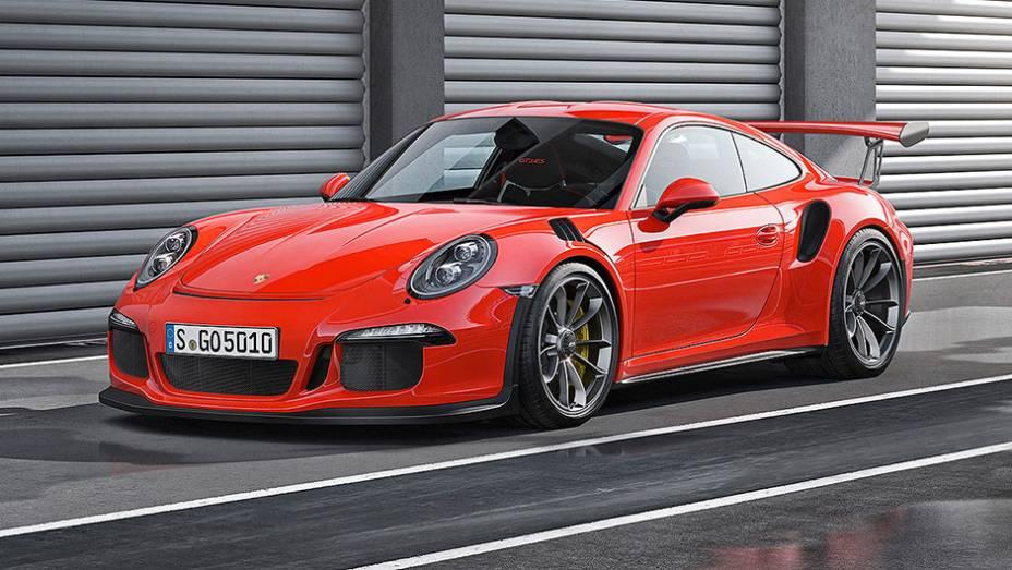 Voltamos a falar de um Porsche 911, mas mais atual: o GT3 RS, voltado para as pistas, possui teto de magnésio, material 33% mais leve do que o alumínio e até 75% mais leve do que o aço.