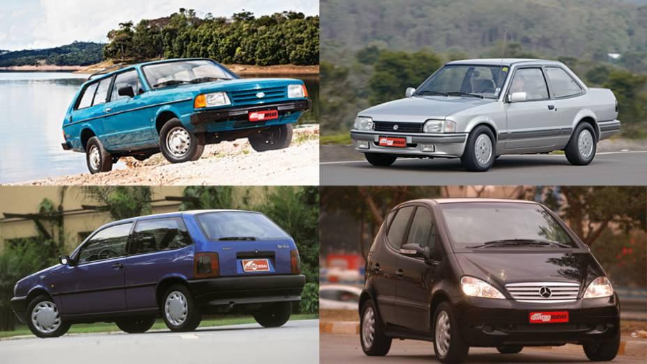Na história da indústria automotiva brasileira não faltam projetos que não emplacaram por aqui. Veja a seguir alguns modelos que estrearam com pompa, mas acabaram virando micos