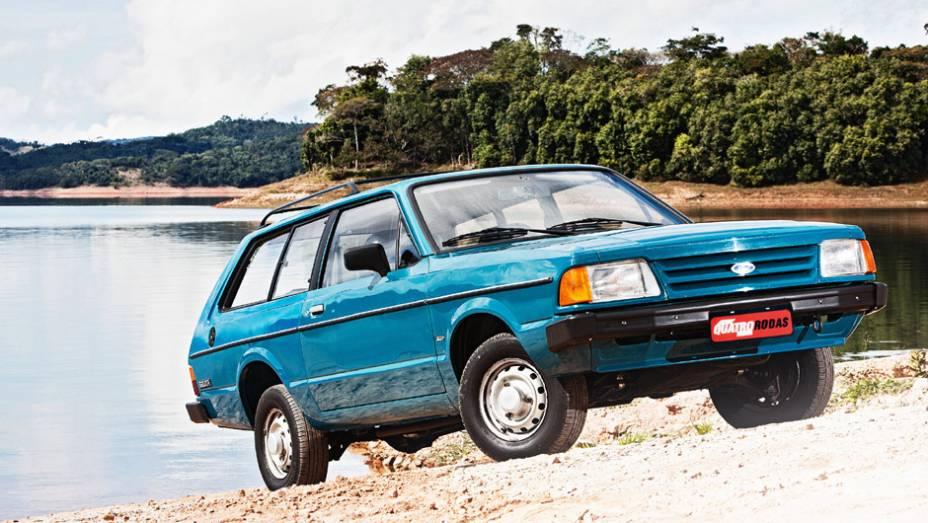 Ford Belina 4x4: lançada no fim de 1984, a perua passou pelo teste de Longa Duração, mas fracassou após sucessivas quebras do sistema de tração integral; as baixas vendas a fizeram sair de cena em 1987