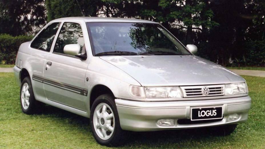VW Logus: o sucessor do Apollo derivava da segunda geração do Ford Verona; deixou de ser produzido em dezembro de 1996, após vender 125.336 unidades, por conta do fim da existência da Autolatina
