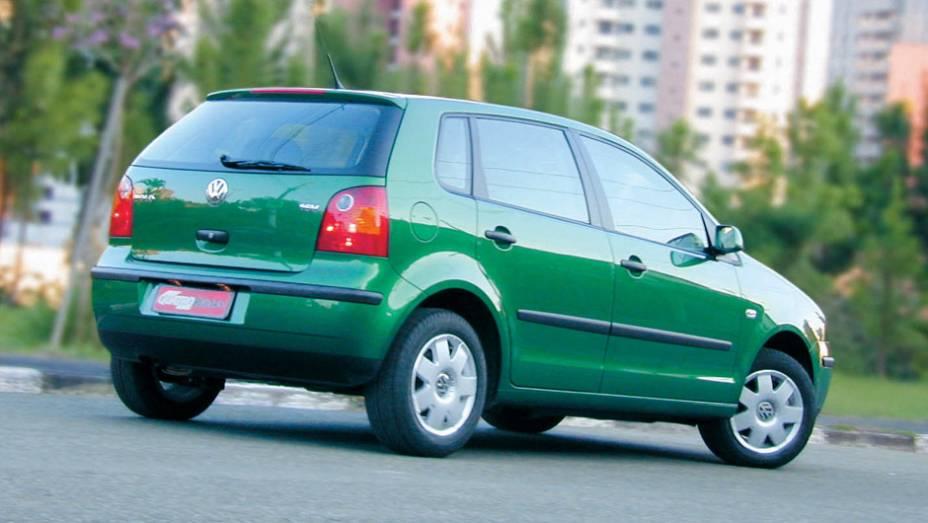 VW Polo 1.0 16V: de olho no IPI menor para os populares, a Volks pensou em adotar o motor 1.0 do Gol Power no Polo; apesar de mais potente (79 cv contra 76 cv), o modelo foi um fracasso de vendas