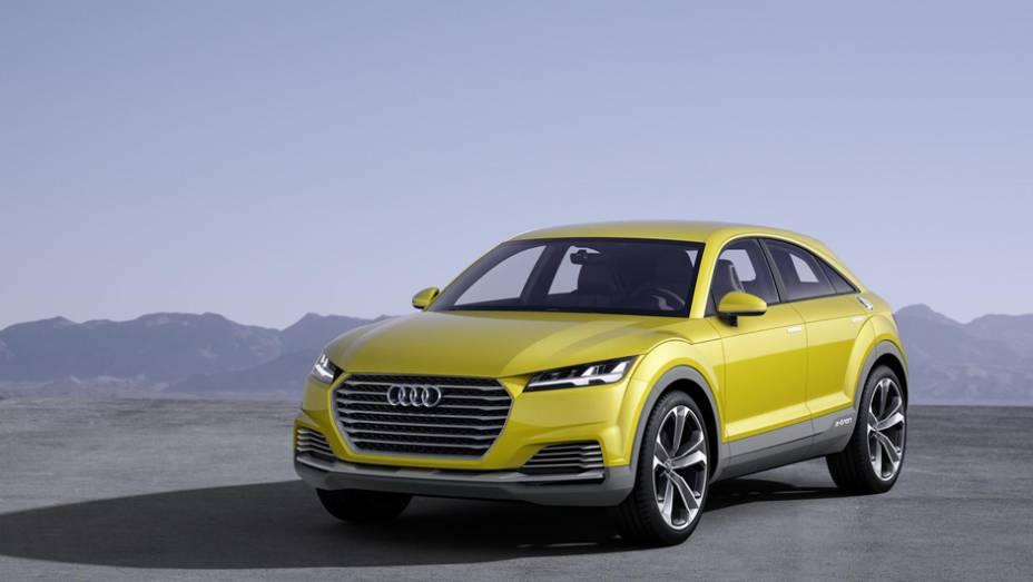 """Audi revelou em Pequim, o conceito TT offroad.   <a href=""""http://quatrorodas.abril.com.br/noticias/saloes/pequim-2014/audi-tt-offroad-revelado-780298.shtml"""" rel=""""migration"""">Leia mais</a>"""
